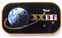 Expedition 23 ISS International Space Station Mission Lapel Pin Official NASA